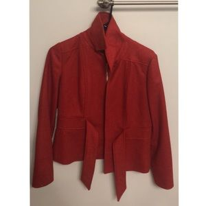 Red coat JCrew